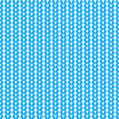 Blue knitted vector seamless pattern — Stock Vector