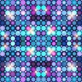 Abstract blue disco lights vector background — Stockvektor
