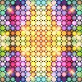 抽象的迪斯科彩灯矢量背景 — 图库矢量图片