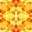 Orange crystal vector abstract seamless pattern — Stock Vector #47499757
