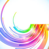 Rainbow colors abstract vector shining background — Vetorial Stock