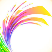 Rainbow colors abstract vector shining background — Vecteur