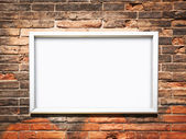 Blank frame — Stock Photo