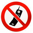No mobile phones allowed — Stock Photo #16773969
