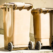 Wheeled garbage cans — Foto Stock