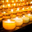 Prayer candles — Stock Photo #16776019