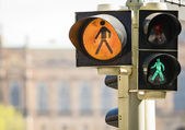 Pedestrian lights — Stock Photo