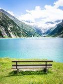 在湖 — 图库照片