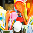 Stock Photo: Colorful spoons