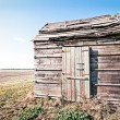 Old hut - Stock Photo
