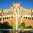 Maximilianeum - munich — Stock Photo