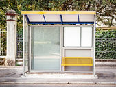 Bus stop — Stock Photo