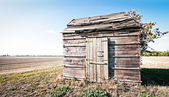 Old hut — Stockfoto