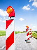 дорога закрыта — Стоковое фото