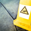 Caution wet floor sign — Stock Photo #18076415