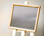 Empty black board — Stock Photo