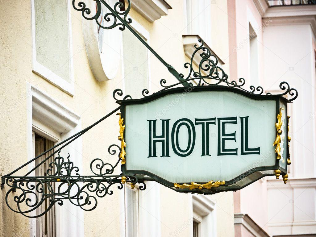 Vintage Hotel Room Numbers