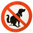 No dogs allowed — Stock Photo #18080121