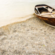 Old row boat - Foto Stock