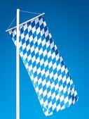 Bavarian flag — Stockfoto