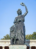 Statue of bavaria — Stock Photo