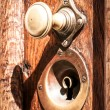 Old doorknob - Stock Photo