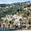 Typical old town at the amalfi-coast in italy — Stock Photo #18880617