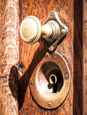 Old doorknob — Foto de Stock