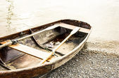 Old rowboat — Foto Stock