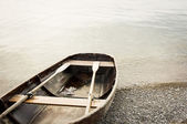 Old rowboat — Stock Photo