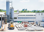 Factory site — Stock Photo