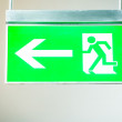 Emergency exit sign — Stock Photo #19317911
