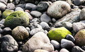 Green rock — Stock Photo