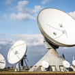 Stock Photo: Radio telescopes
