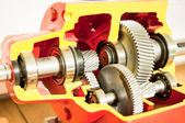 Gearbox — Stock Photo