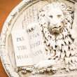 The lion of venice - Stock Photo
