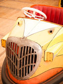 Old bumper car — Stock Photo