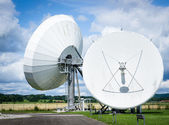 Radio telescopes — Stock Photo