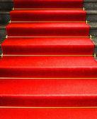 Roten teppich — Stockfoto