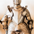 Antique suit of armor - Stock Photo