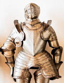 Antique suit of armor — Stock Photo