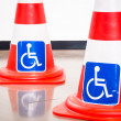 Disabled signs - Stock Photo
