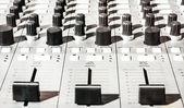Old sound mixer — Stock Photo