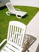 Sunlounger — Stock Photo