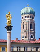Marienplatz - munich — Stock Photo