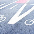 Bicycle lane — Stock Photo #19910827