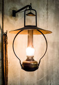 Petroleum lamp — Stock Photo