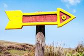 Arrow sign — Stock Photo