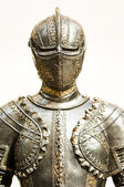 Antique suit of armor — Stock Photo