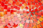 Red tiles — Stock Photo